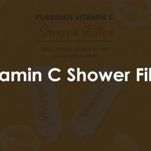 Vitamin C Shower Filter